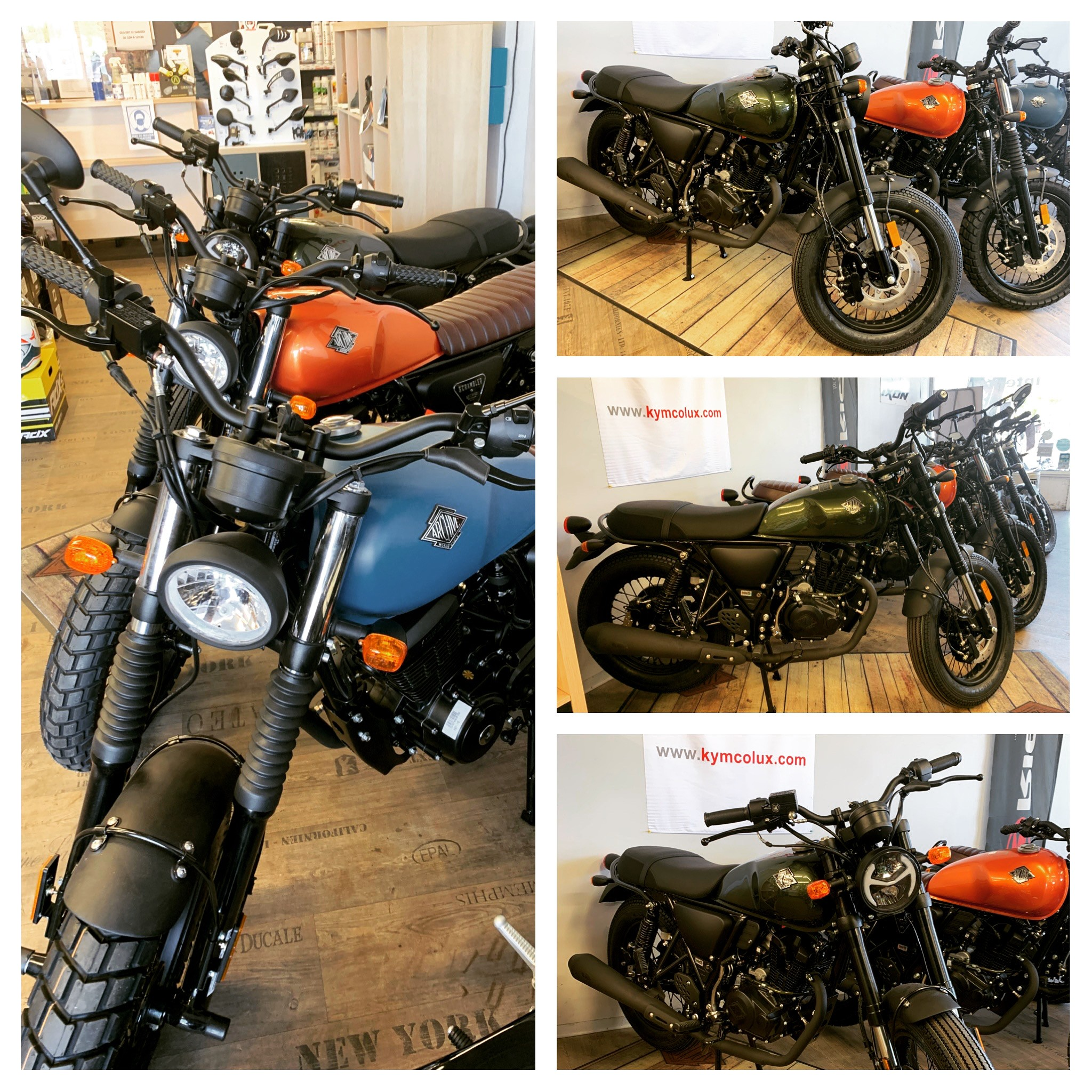 Moto, Archive, Scrambler AM-64 125cc Euro 5, 2999€