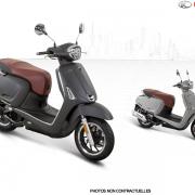 Scooter, Kymco, Like 125 ABS Noodoe E5, 3299€