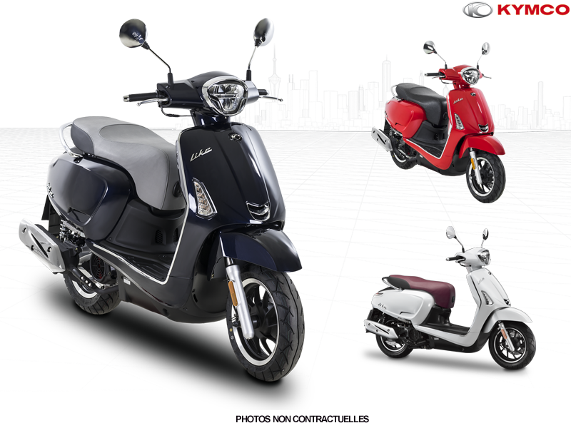 Scooter, Kymco, Like 125 CBS E5, 2599€
